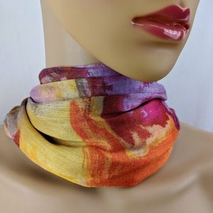 Chico's Water Block Scarf Wrap NWT